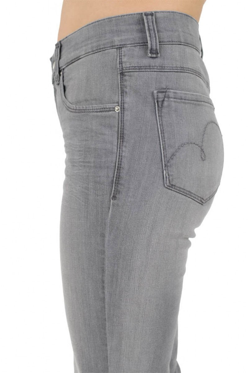 Angels Cici Jeans - Regular Fit  - Light Grey Used
