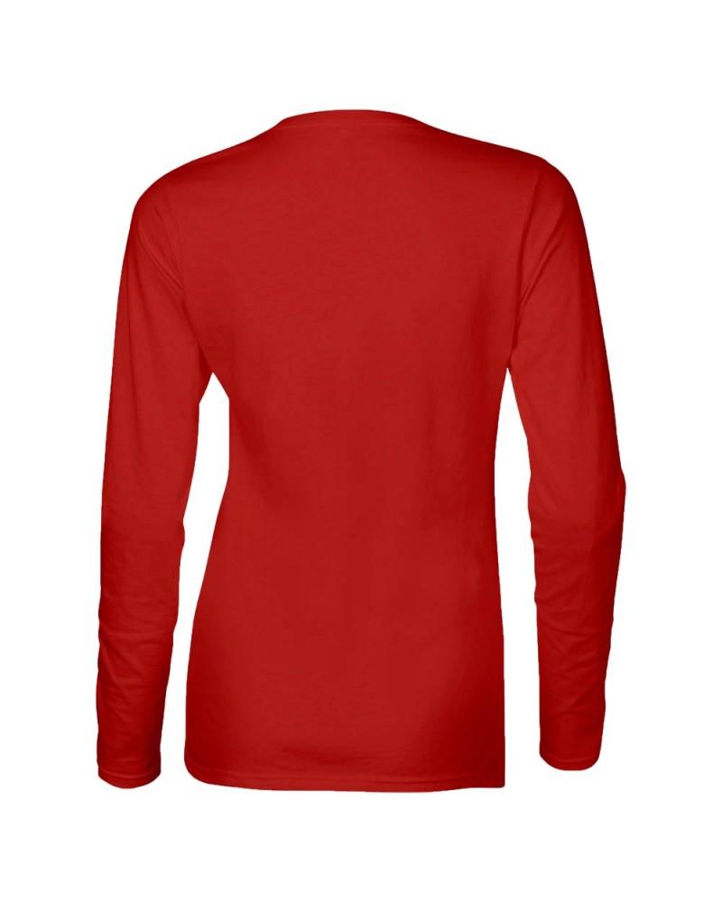 Gildan Langarmshirt - Softstyle - Red v