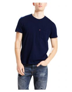 Levi's T-Shirt - Sunset Pocket - Saturated Indigo