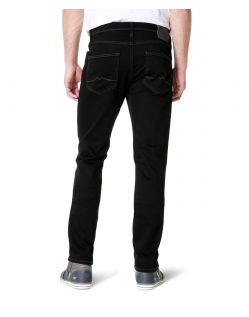 MUSTANG VEGAS Jeans - Slim Fit - Midnight Black - Hinten