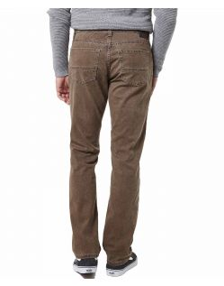 Pioneer Rando - Hinten - braune Stoffhose im Regular Fit