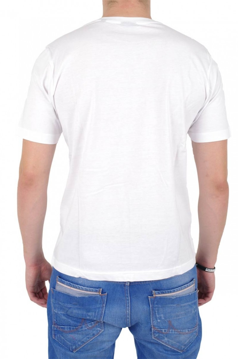 Gin Tonic Basic T-Shirt Marlon - Regular Fit - Weiß vorn