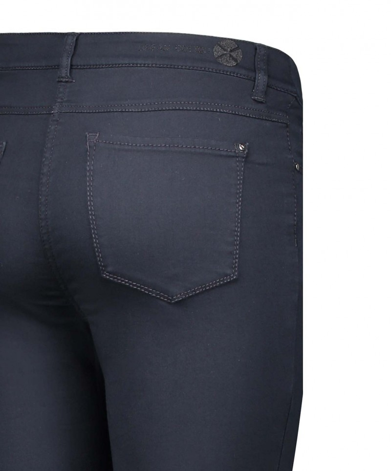Mac Dream Skinny Cotton - Dark Blue