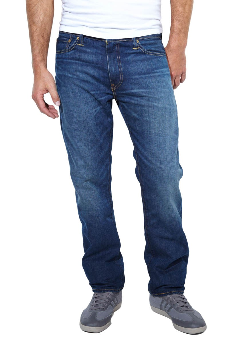 Levis 504 Jeans Regular Straight Punked