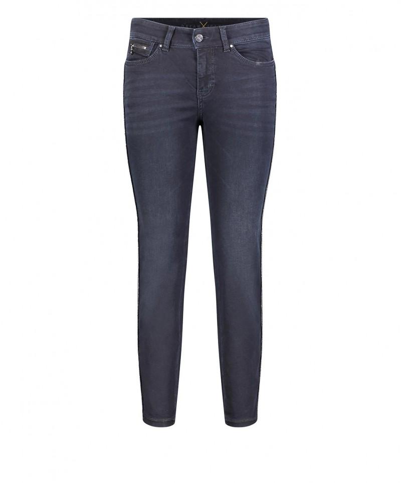 Mac Jeans Dream verkürzt, mit modischen Galonstreifen