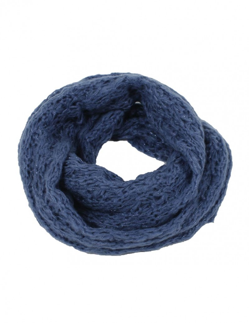 VERO MODA Loop - Skouboe Lurex - Bijou Blue