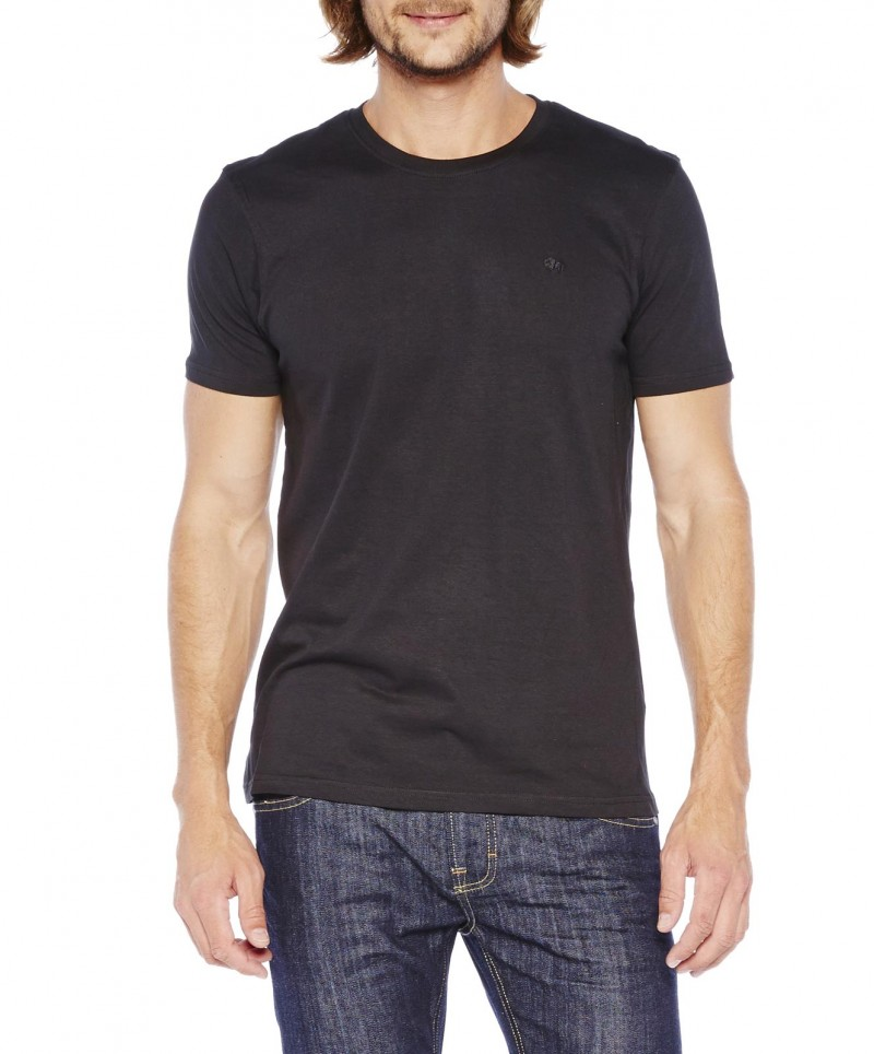 Colorado Stuart - Doppelpack T-Shirt - Schwarz