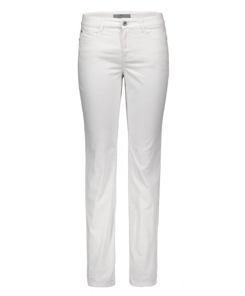 MAC ANGELA Jeans - Drill Stretch - Weiss