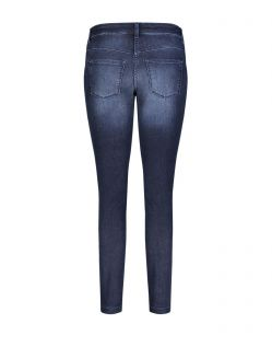 Mac Dream Skinny Authentic - dunkle Jeans in enger Silhouette - F02