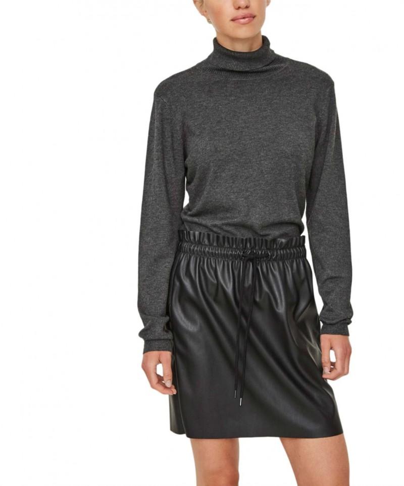 Vero Moda Glory - Grauer Rollkragenpullover für 21,95 € billig kaufen 62f0fccfc4