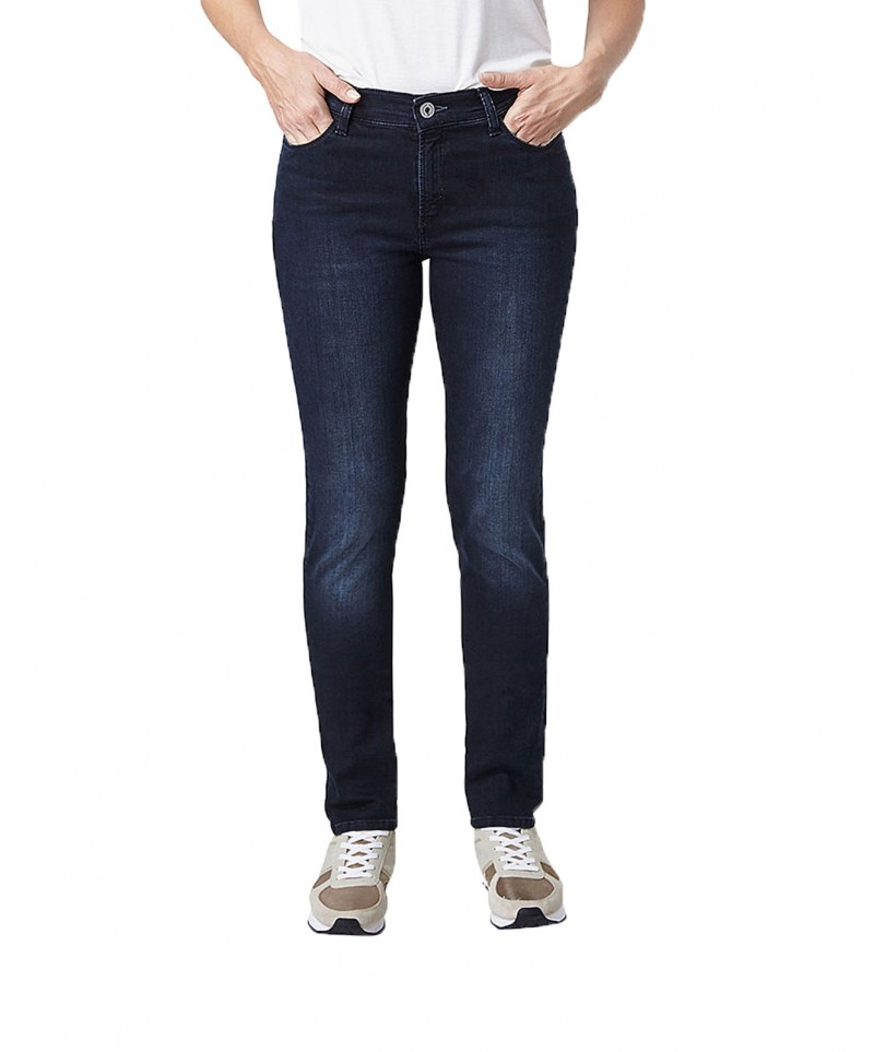 PIONEER KATY Jeans - Skinny Fit - Powerstretch - Blue Black Dark Used with Buffies
