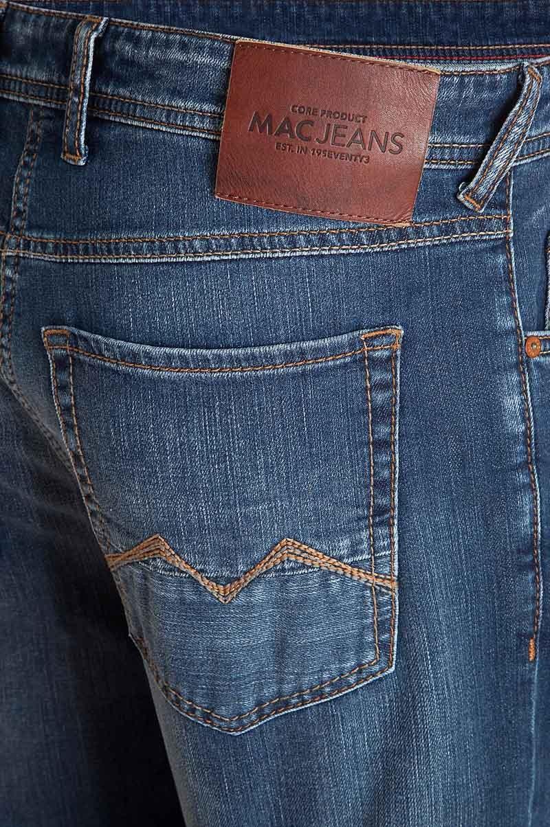 Mac Arne Jeans Straight Leg authentic blue 3D