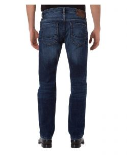 CROSS Jeans Antonio - Slightly Tapered - Dark Medium Blue - Hinten