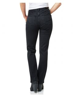 Pioneer Betty Jeans- Regular Fit - Schwarz - Hinten
