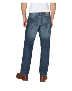 Colorado Lake - Comfort Fit Jeans in Stone Washed - Hinten