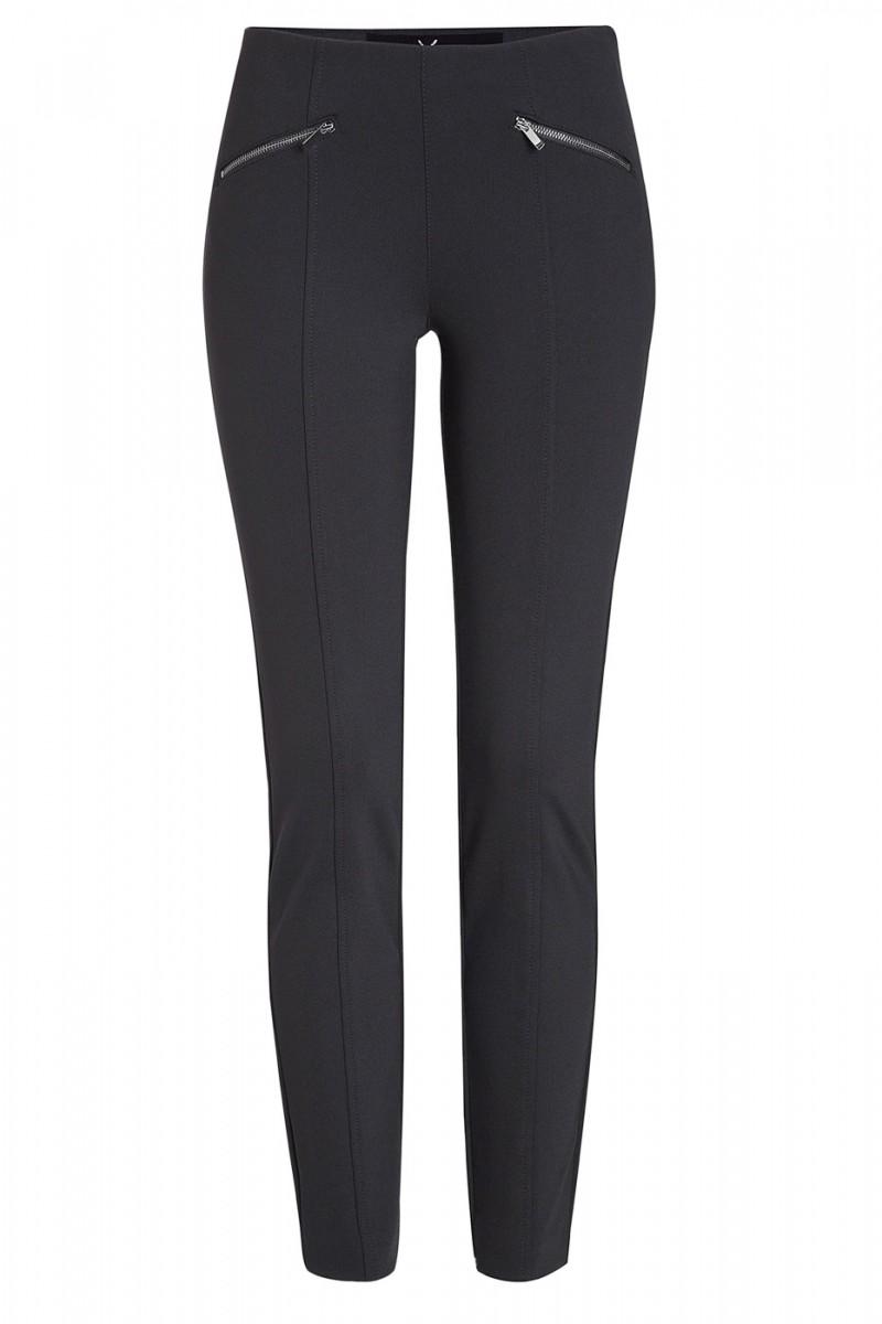 Mac DREAM Ankle Luxury  Hose - Jersey-Qualität - black