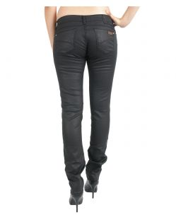 GARCIA RIVA Jeans - Super Slim Leg - Slim Fit - Black Coated - Hinten