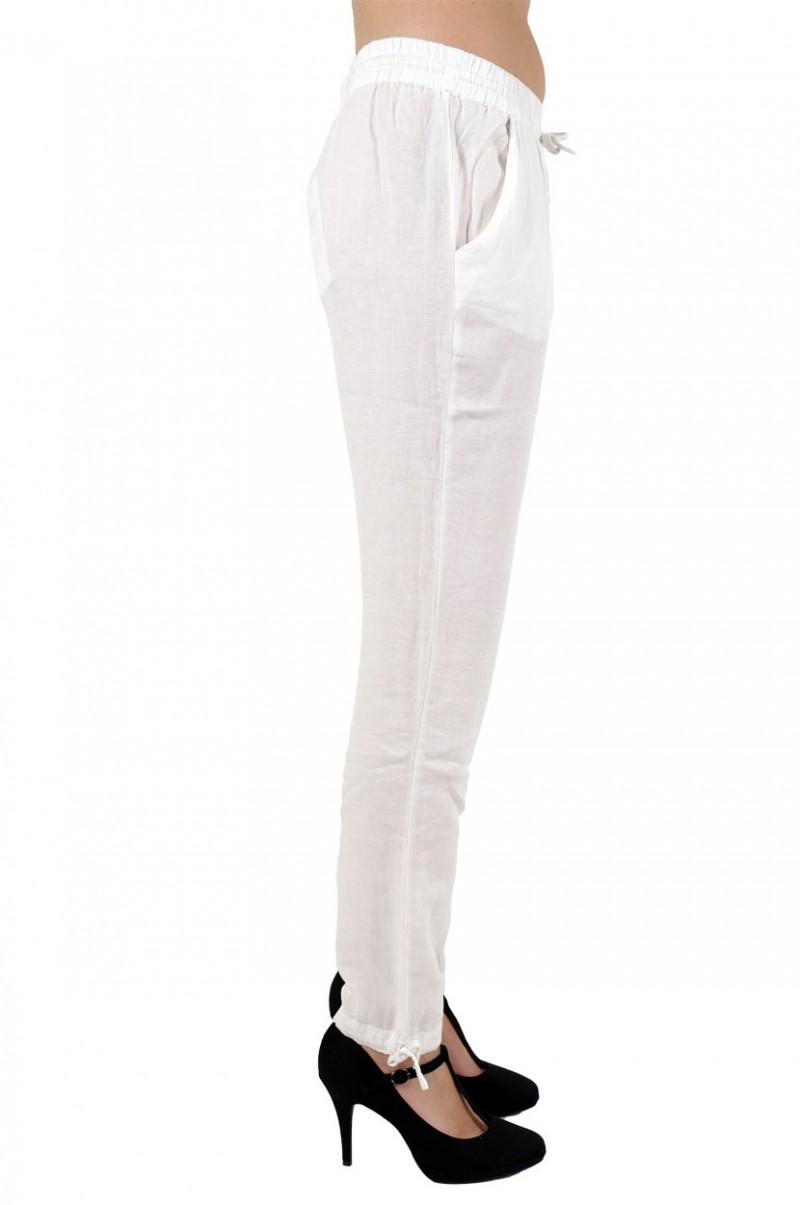 Vero Moda Alana - Leinenhose - Weiss