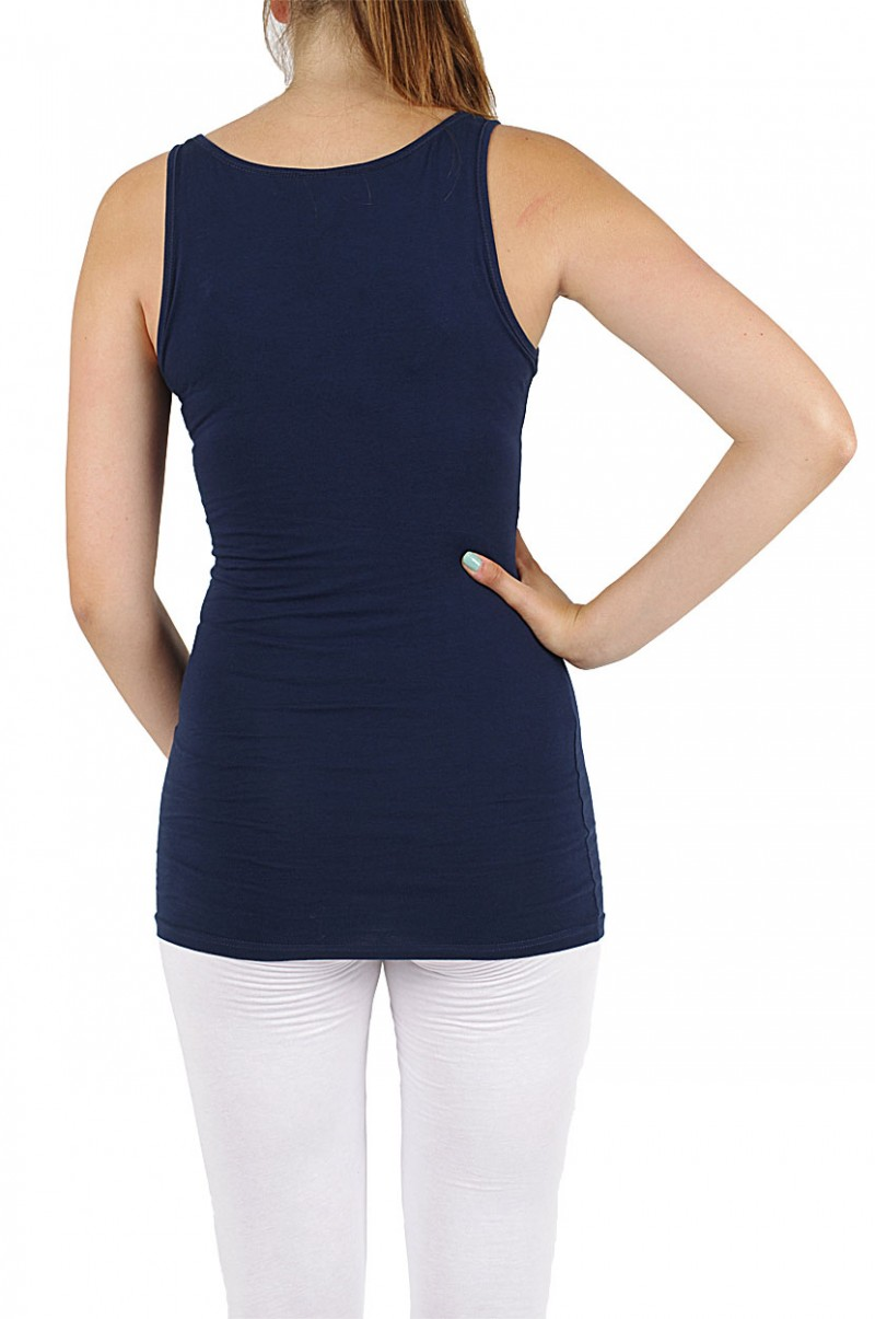 Vero Moda Maxi My Long Tank Top - Dark Navy