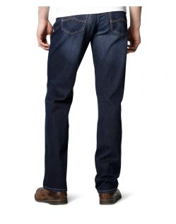 Mustang Big Sur Jeans - Old Stone Used - Hinten