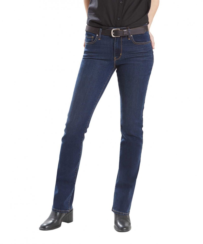 LEVI'S 714 Straight - Slim Fit - Blue Vista