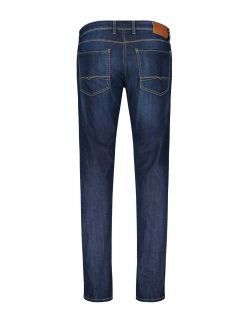 MAC Arne Jeans - Sommer Denim - Dark Blue Stonewash - Hinten