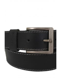 Wrangler Gürtel Basic Stitched Belt in Black d