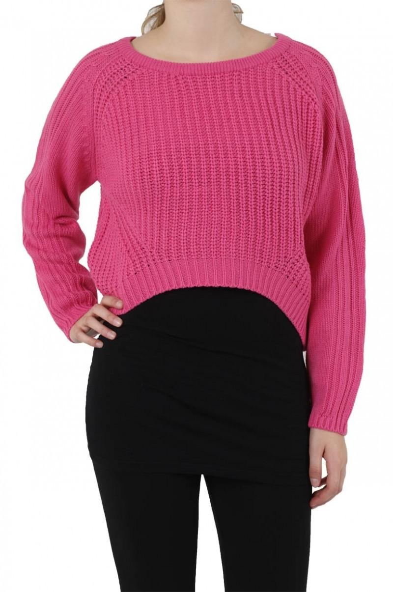 Vero Moda - Strickpullover - Hot Pink
