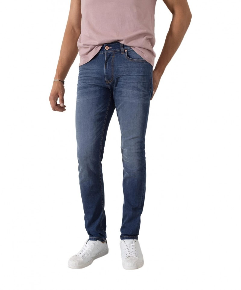 HIS STANTON Jeans - gerades Bein - Dusty Grey