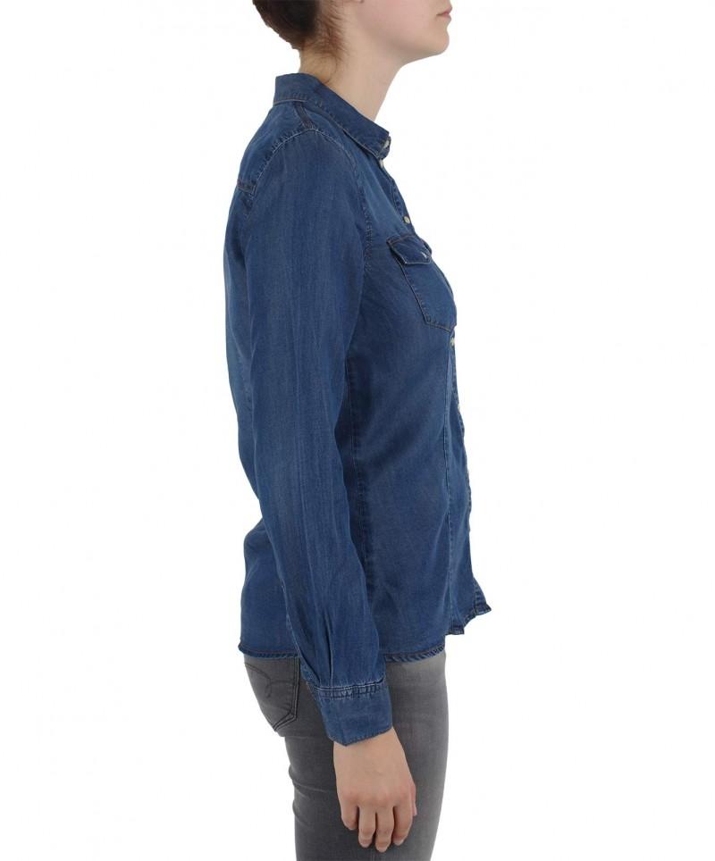 VERO MODA VERA - Jeanshemd - Blue Denim