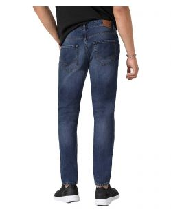 HIS WARREN - Loose Fit Jeans - Medium Blue - Hinten