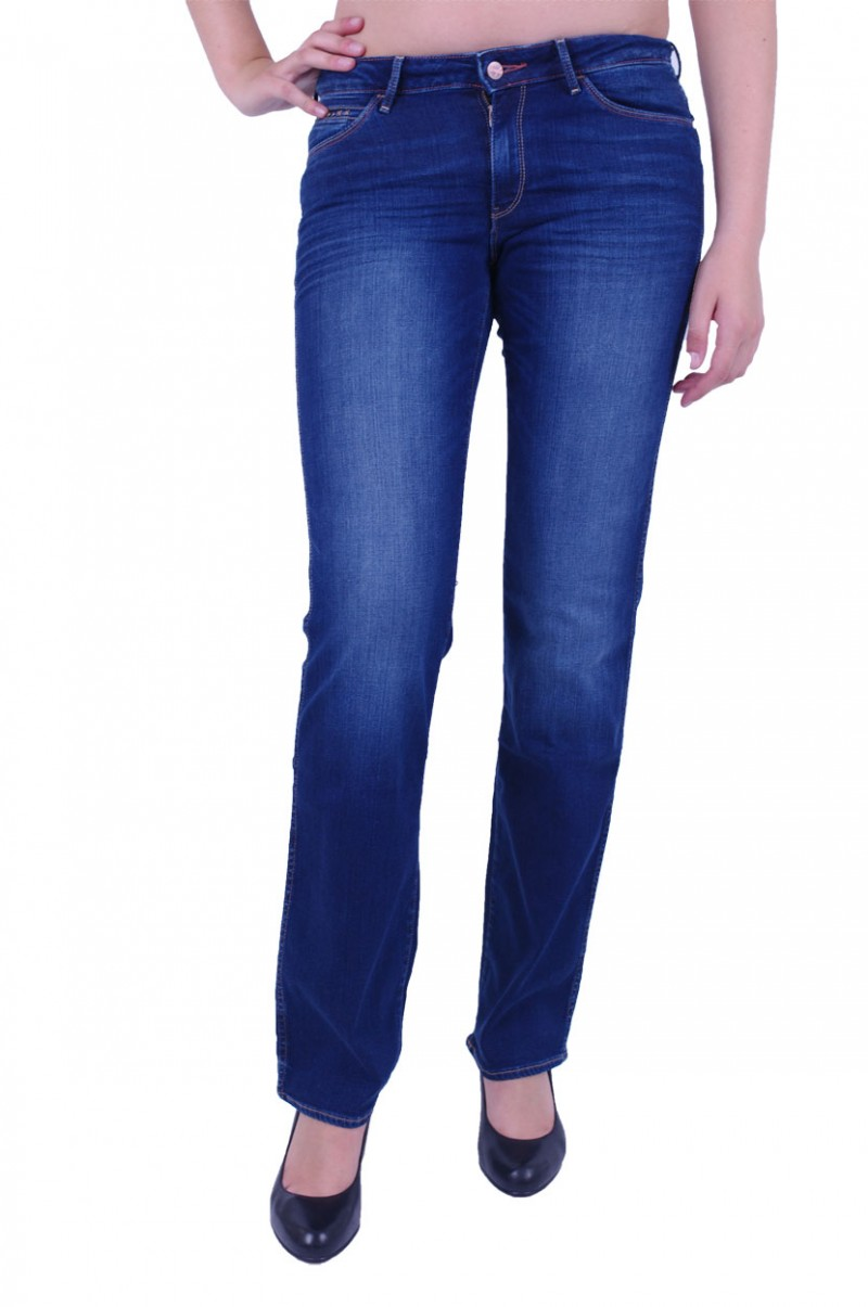 Wrangler Sara Jeans - Straight Leg - High Tide v