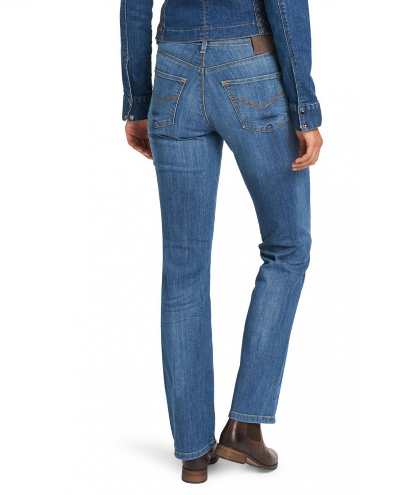 HIS COLETTA Jeans - Comfort Fit - Seashell Blue