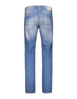 MAC ARNE Jeans - Alpha Denim - Aquablue Authentic Used - Hinten