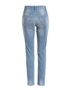 MAC MELANIE - Jeans Straight Leg - authentic light blue - Hinten