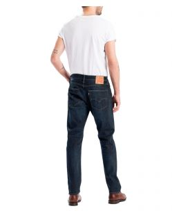Levis 502 Jeans - Regular Taper Fit in dunkelblau - Hinten
