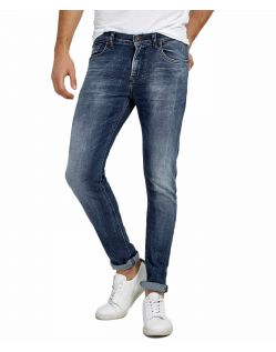 LTB Smarty - Skinny Jeans in azurblauer Waschung
