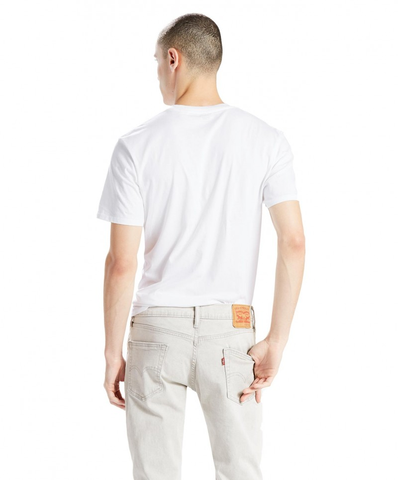 LEVI'S T-Shirt - Neck Graphic Set - Revolt White
