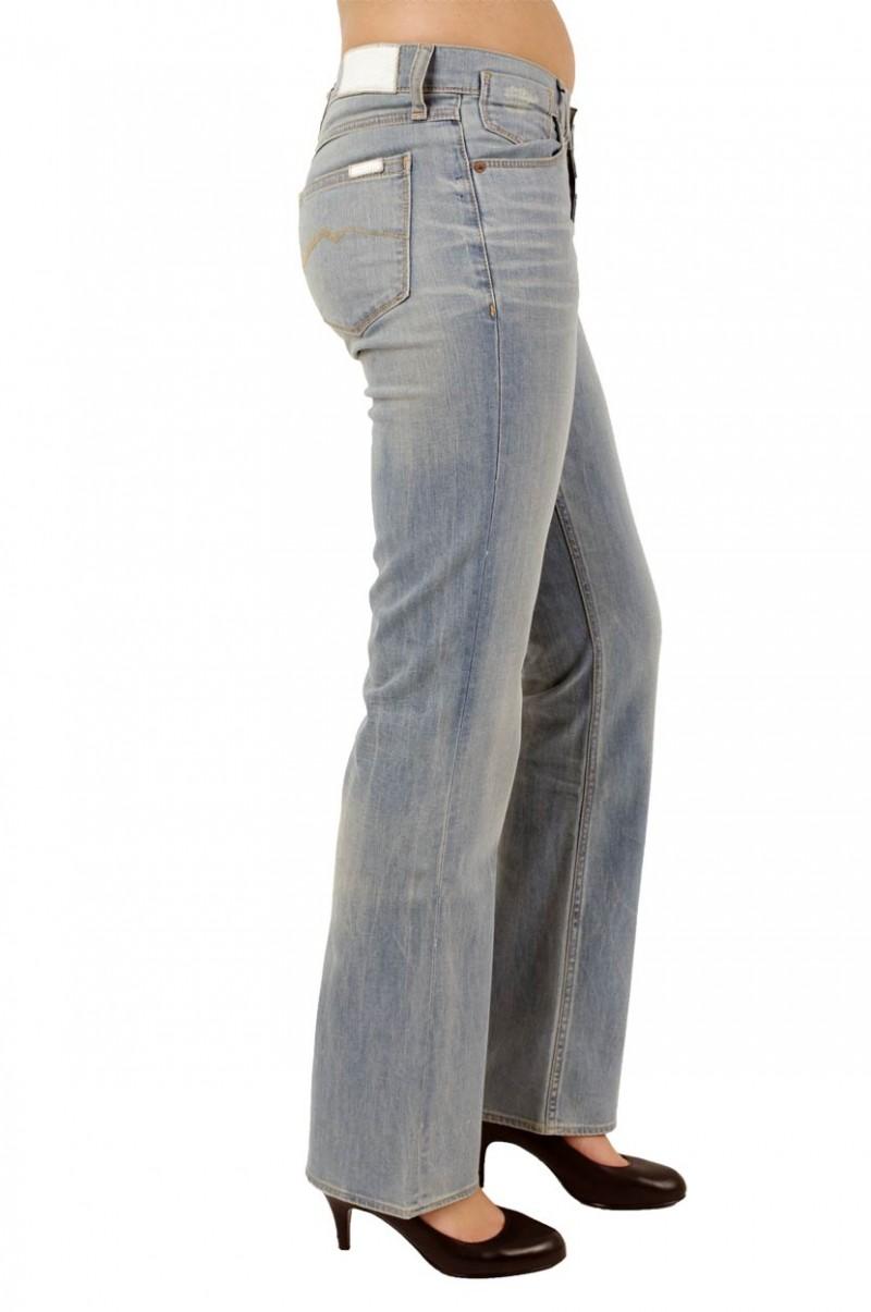 Mustang Girls Oregon Jeans - Light Bleached