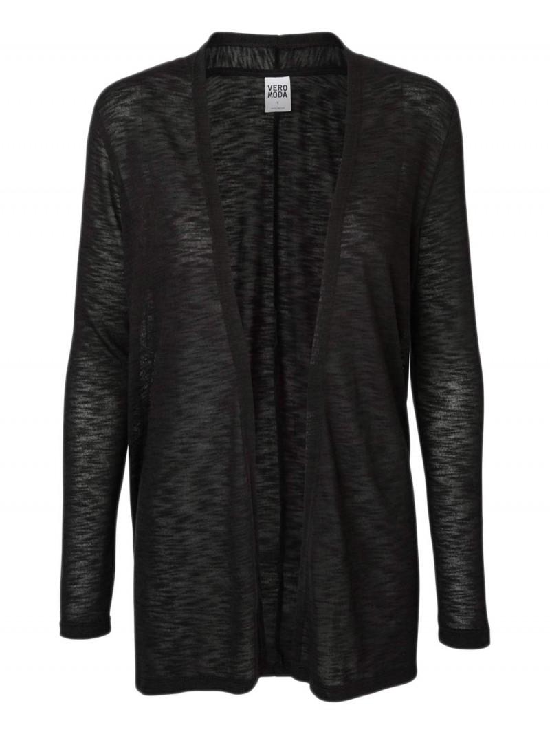 Vero Moda - ANNA ASTI - Strickjacke - Black