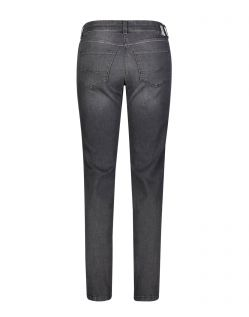 Mac Jeans Angela - Slim Fit in Dark Grey Waschung - Hinten