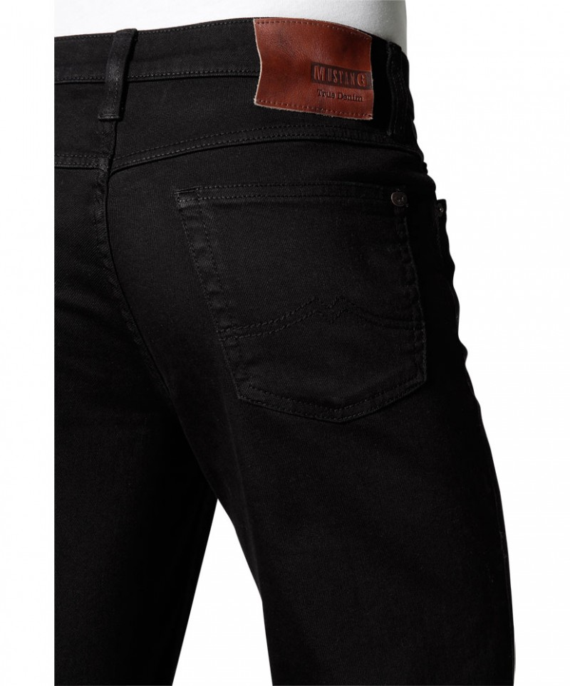 Mustang Tramper Jeans - Slim Fit - Midnight Black