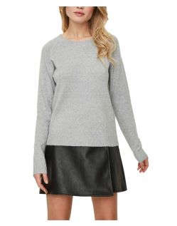 Vero Moda Doffy - Weicher Strickpullover in Grau