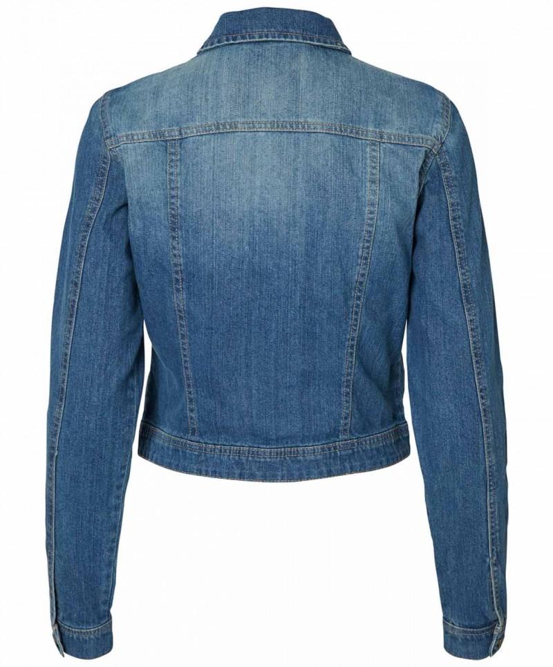 Vero Moda Danger - Jeansjacke - Medium Blue - Vorne