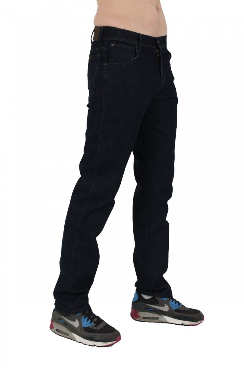 Wrangler Regular Fit - Stretch Jeans - Rinsewash v
