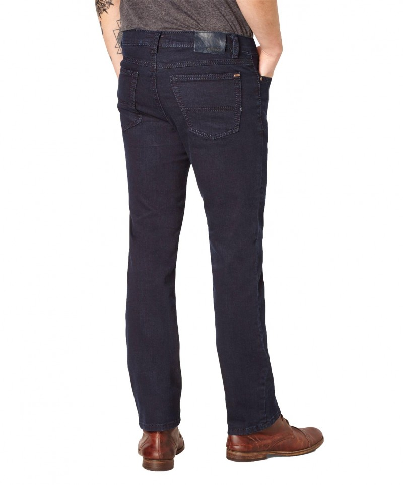 Paddocks Ranger Jeans - Saddle Stitch - Dark Blue Rinse