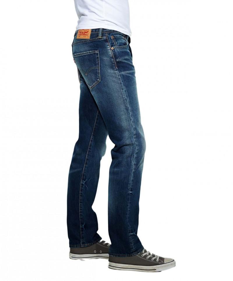 Levis 501 Jeans - Straight Leg - wave surf wash