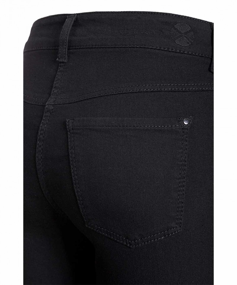 MAC DREAM - Jeans Straight Leg - black black