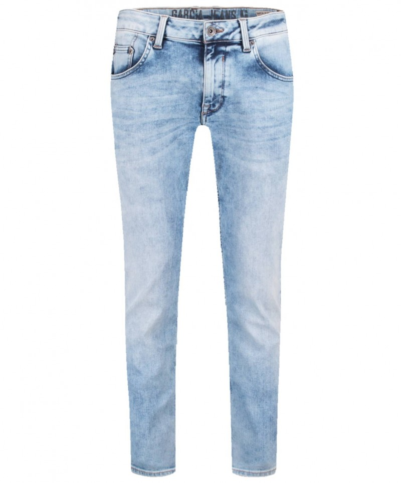 Garcia Russo - Hellblaue Jeans im Tapered Fit