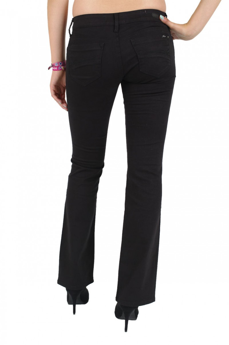 Mavi Bella Jeans - Slim Bootcut - Black Wind Stretch